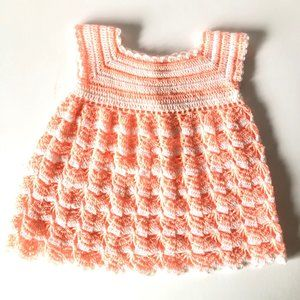 Crochet Infant Dress